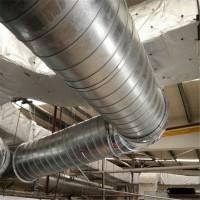 廣東風管配件,工廠除塵管道圓形螺旋風管專業加工廠家